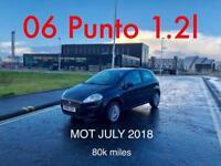 £1150 2006 Fiat Punto 1.2l* like corsa clio fiesta micra yaris 207 c3 A3,