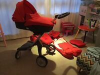 Stokke V4 seat V3 chassis willing to post offers please