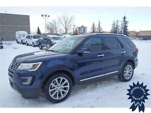 2016 Ford Explorer Limited 4x4 - 31,003 KMs, 7 Passenger SUV