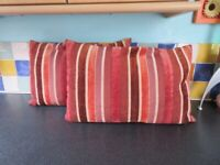 """2 x Rectangle cushions 23"""" x 15"""" - filling & covers"""