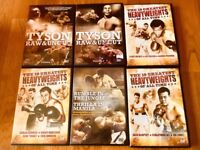 Classic boxing DVD's over 12 hours