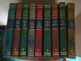 COLLIER'S JUNIOR CLASSICS - collectable hardback books