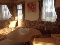 3 Bedroom caravan non smoking /pet friendly sleeps upto 8, Fantasy island SEP £200- OCT from £150