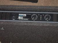D J Disco amp Warrior D A 500 in case,
