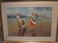 JOHN HASKINS original painting (large - 69 x 90 cm)