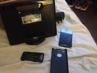 I phone 4 with accessories