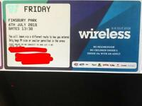 ONE Wireless Friday 6th july