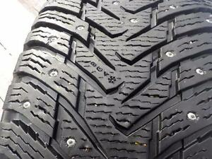 4 - Nokian Hakkapellitta winter tires 265/70R/17 ( SUV 8 ) , standard load