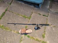 Small fishing rod, never used