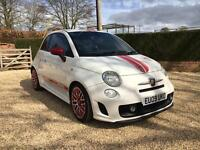 Abarth 500, QUICK SALE, Top Spec, Red Leather, Bluetooth etc! PRICE DROP