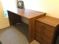 Used Office Desk and Draws