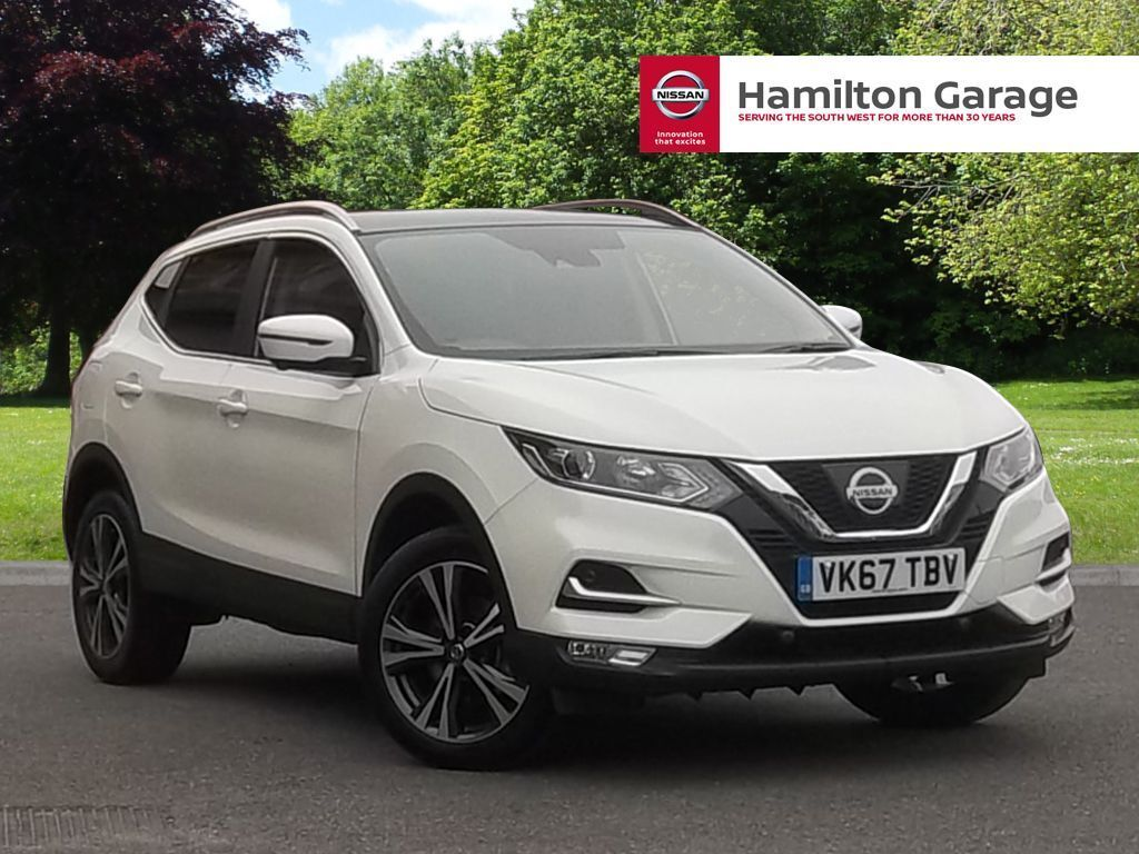 nissan qashqai 1 5 dci n connecta 5dr storm white 2017 in sidmouth devon gumtree. Black Bedroom Furniture Sets. Home Design Ideas