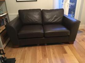 Mark and Spencer's Real Leather Couch