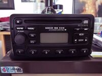Ford 6000 CD Player Focus Fiesta Transit Mondeo With code