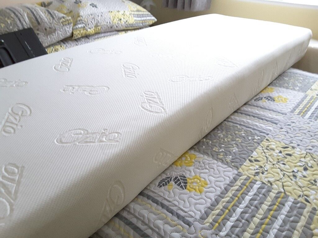 Two Ozio foam mattresses