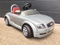 AUDI TT KIDS RECHARGEABLE BATTERY POWERED RIDE ON CAR (Licensed by AUDI)