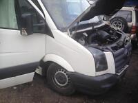 breaking crafter van all parts
