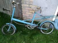 Retro Vintage Mini Moulton bike