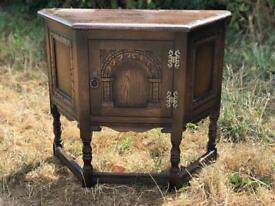 Vintage wooden old charm table unit