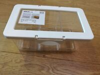 IKEA KRUS clear box with lid