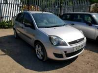 57 PLATE FORD FIESTA. 1.4 TDCI TURBO DIESEL. PX WELCOME