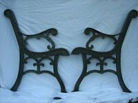 BENCH ENDS CAST IRON...offers..