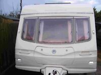 Avondale Argente 550/4S 2004/5 Luxury 4 Berth Caravan With Motor Mover