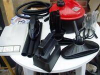 multi purpose steam cleaner kit - includes wallpaper stripper - as new - unused