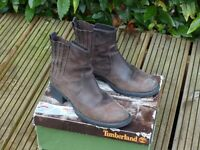 Ladies size (38) 5.5 - 6 Leather Timberland boots
