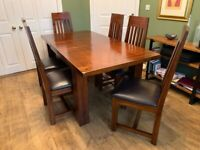 Webster Dining Table and Six Chairs