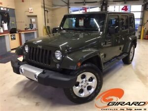 2015 Jeep WRANGLER UNLIMITED *SAHARA UNLIMITED*2 TOITS*DÉMARREUR