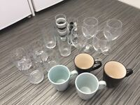 Starter New Student Home selection of glasses and cups