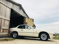 Porsche 924 ivory cream (so retro)