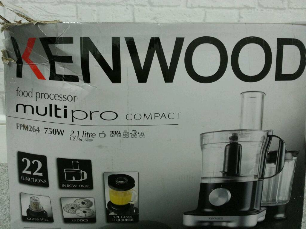 KENWOOD Food processor multi pro compactin Bradford, West YorkshireGumtree - Bought it 3 months ago and stopped working. We havent used some part of it at all. I can deliver locally