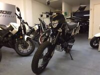 Sinnis Apache 125cc Supermoto, 1 Owner, Low Miles, V Good Condition, ** Finance Available **
