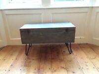 Vintage storage coffee table