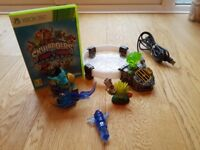 Skylanders Trapteam Starter Pack and x 3 Trapmasters and x 3 Traps