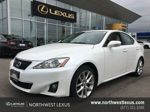 2013 Lexus IS 250 LEATHER WITH MOONROOF PACKAGE