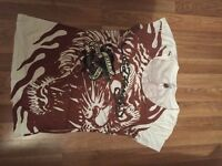 ED HARDY T SHIRT GOOD CONDITION