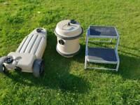 Sold...Caravan aquaroll, wastmaster and caravan step