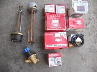 taps and heating valves, toilet syphones