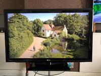 "LG 42"" led hd tv in perfect working order"