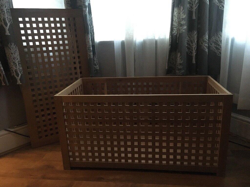 IKEA HOL Storage Table/ Box