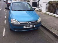 Vauxhall corsa mot good runner £375