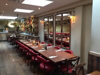 Waiter/ Waitress required in a bolognese restaurant in Kensington