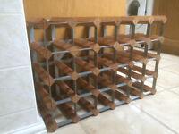 Wine rack 62cm wide - 42cm high - 22cm deep