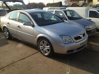 SWAINSTHORPE MOTOR CO 2004 VAUXHALL VECTRA 2.0 DTI DEISEL MOT 10TH FEB 2018 SILVER