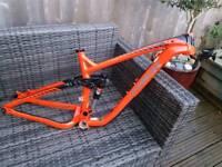 Trek remedy 9 mountain bike frame