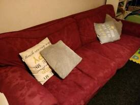 2 pieces Sofa set: sofa+sofabed