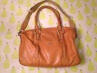 Storksak Elizabeth leather changing bag